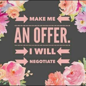 Make me an offer! 🌸